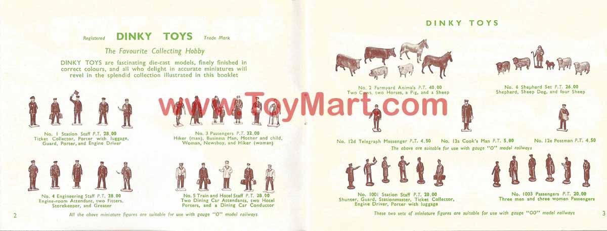 Dinky toys catalogue 1952 02/03