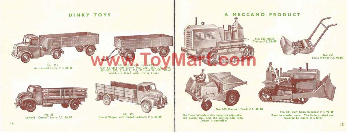 Dinky toys catalogue 1952 14/16