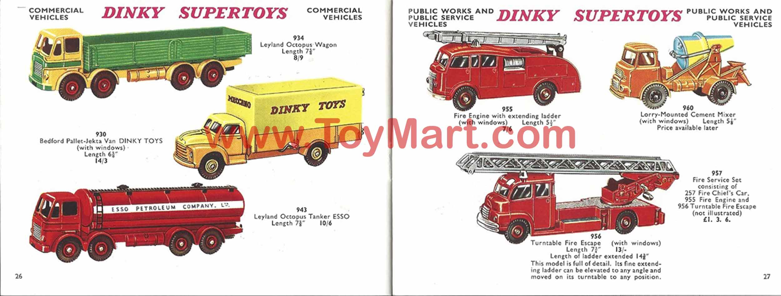 Dinky Toys Catalogue 1960