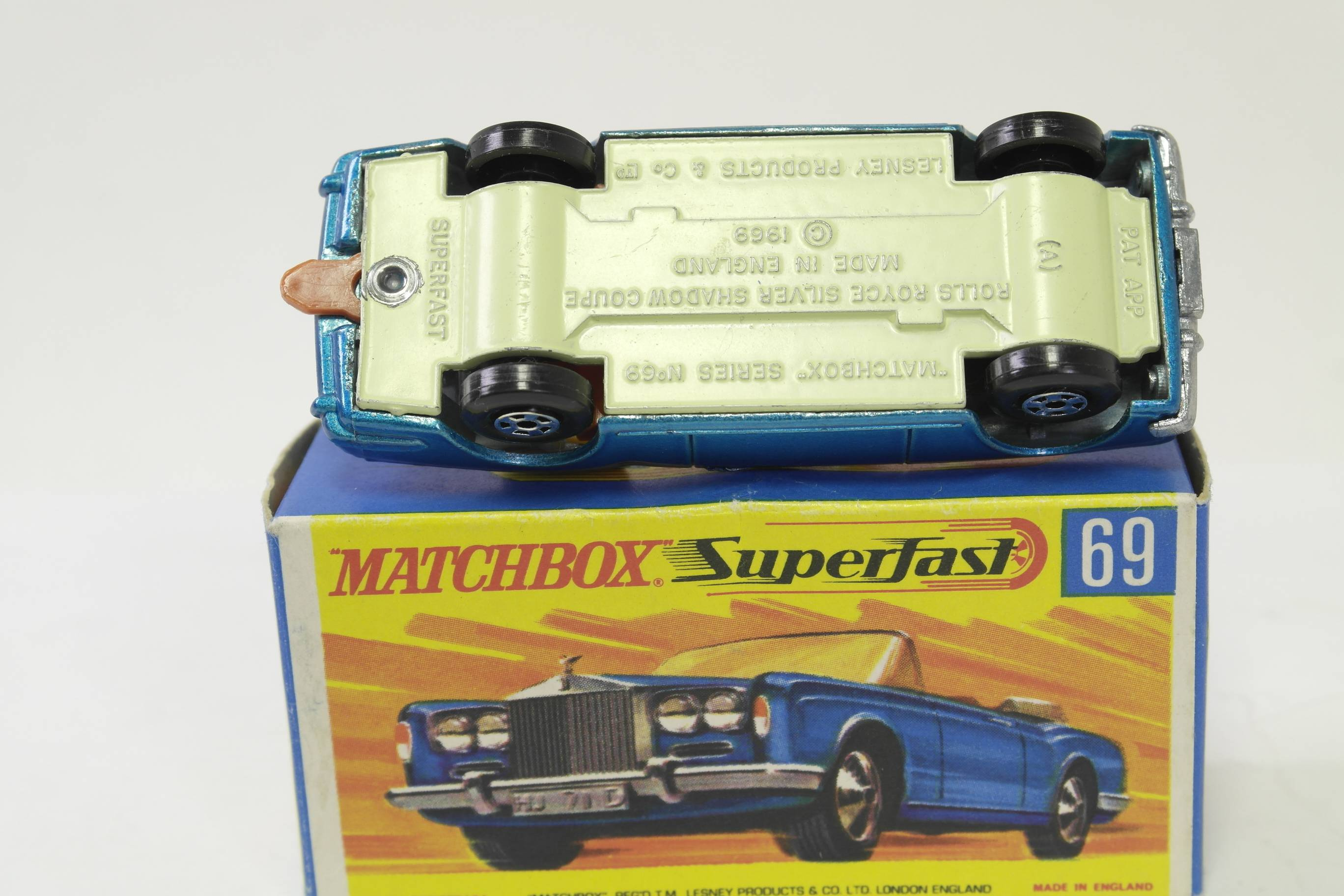 Matchbox M69 Rolls Royce base