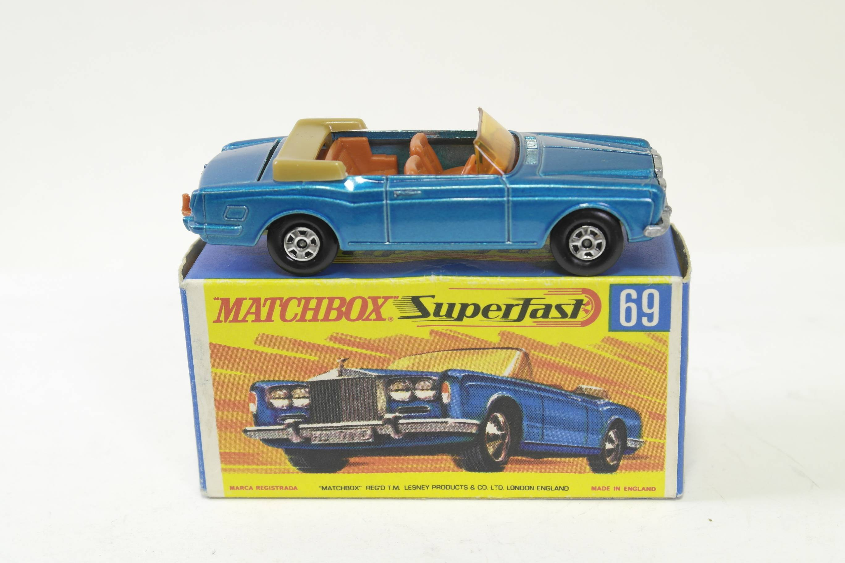 Matchbox M69 Rolls Royce side