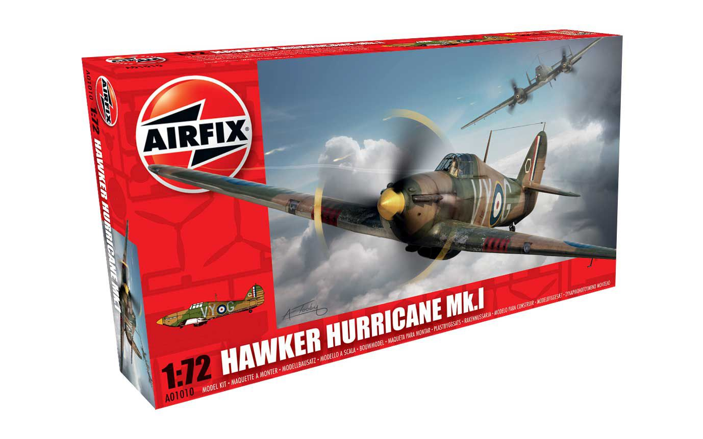 Picture Gallery for Airfix A01010 Hawker Hurricane MkI 1:72