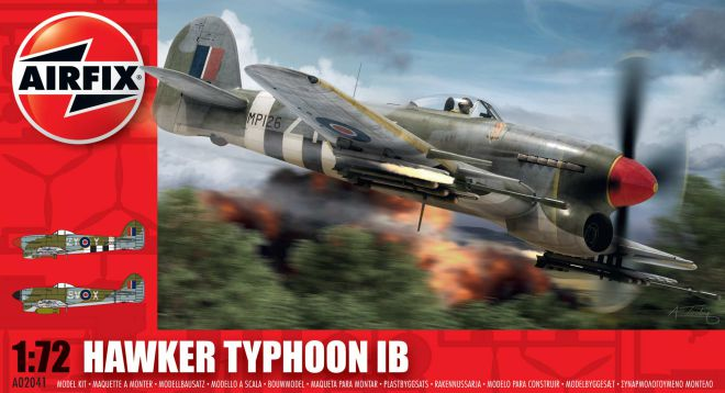 Picture Gallery for Airfix A02041 Hawker Typhoon Ib 1:72