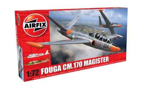 Picture Gallery for Airfix A03050 Fouga CM.170 Magister 1:72