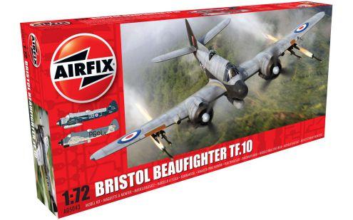 Airfix Bristol Beaufighter Mk.X 1:72Plastic Model Plane Kit