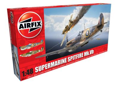 Picture Gallery for Airfix A05125 Supermarine Spitfire MkVb 1:48