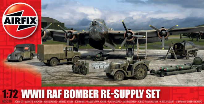 Picture Gallery for Airfix A05330 WWII RAF Bomber Re-supply Set 1:72