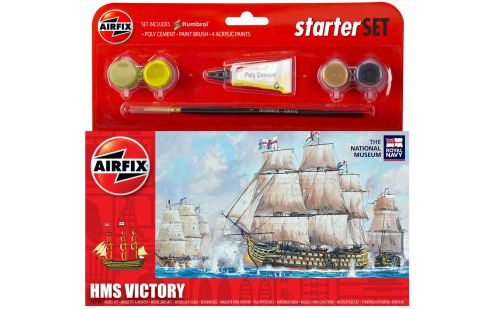 Picture Gallery for Airfix A55104 HMS Victory Starter Set