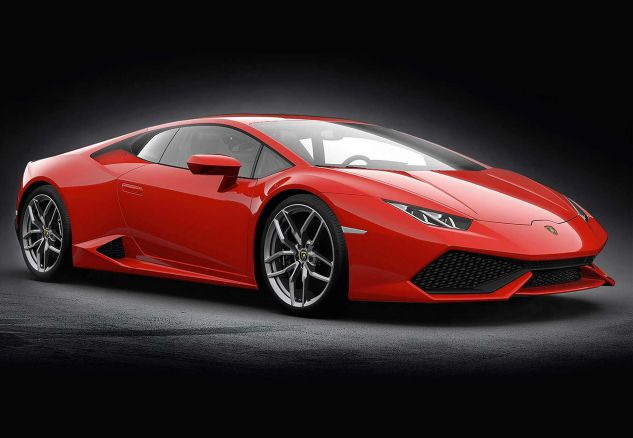 Lamborghini Huracan LP 610-4 - Rosso Mar
