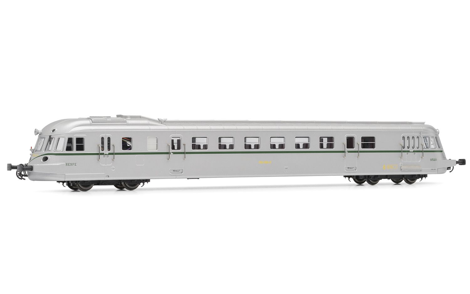 Picture Gallery for Electrotren E2142D Diesel railcar ABJ 7 RENFE 9320 DCC