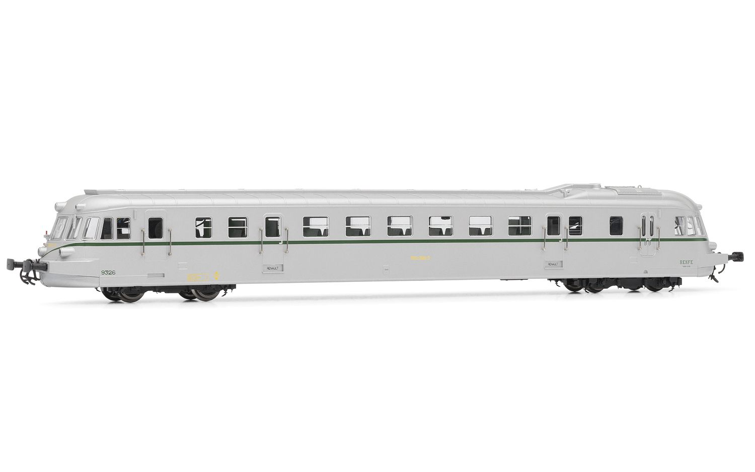 Picture Gallery for Electrotren E2144 Diesel railcar ABJ 7 RENFE 9326 cafe