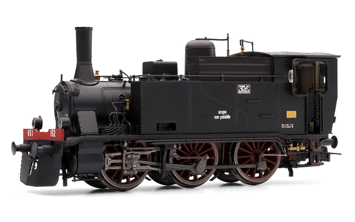 Picture Gallery for Lima HL2670 FS, Steam Locomotive Gr. 851, with E