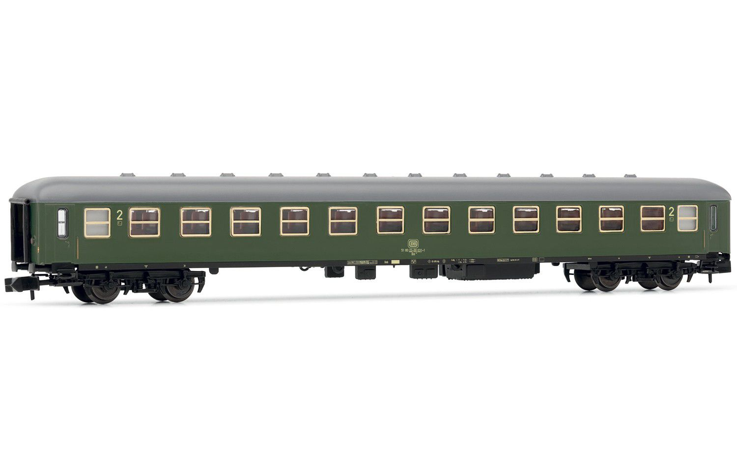Picture Gallery for Arnold HN4189 2nd class passenger coach, DB, expre