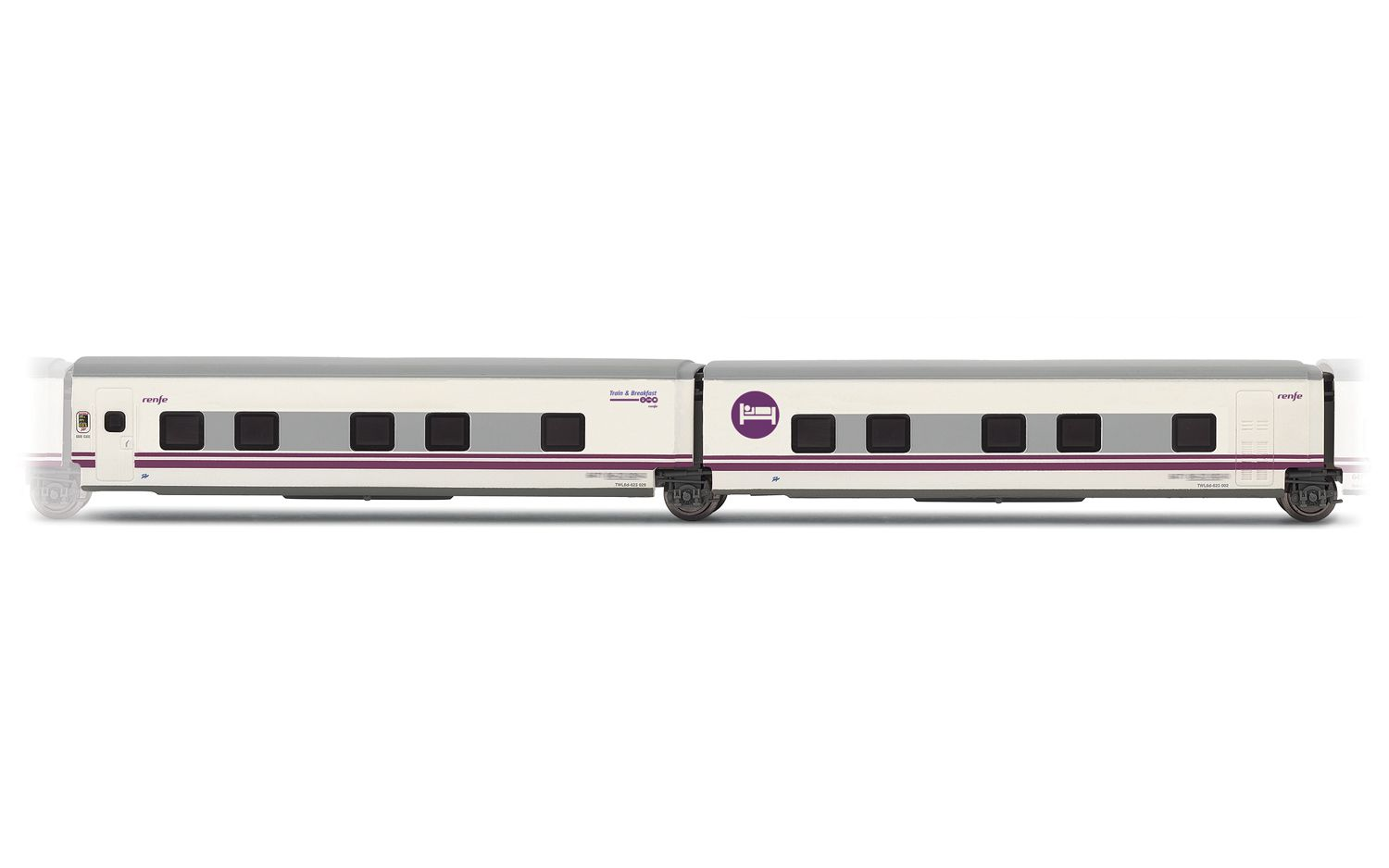 """Picture Gallery for Arnold HN4211 2-unit set Talgo """"Train & Breakf"""