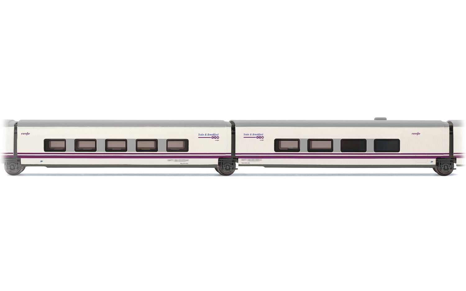 """Picture Gallery for Arnold HN4212 2-unit set Talgo """"Train & Breakf"""