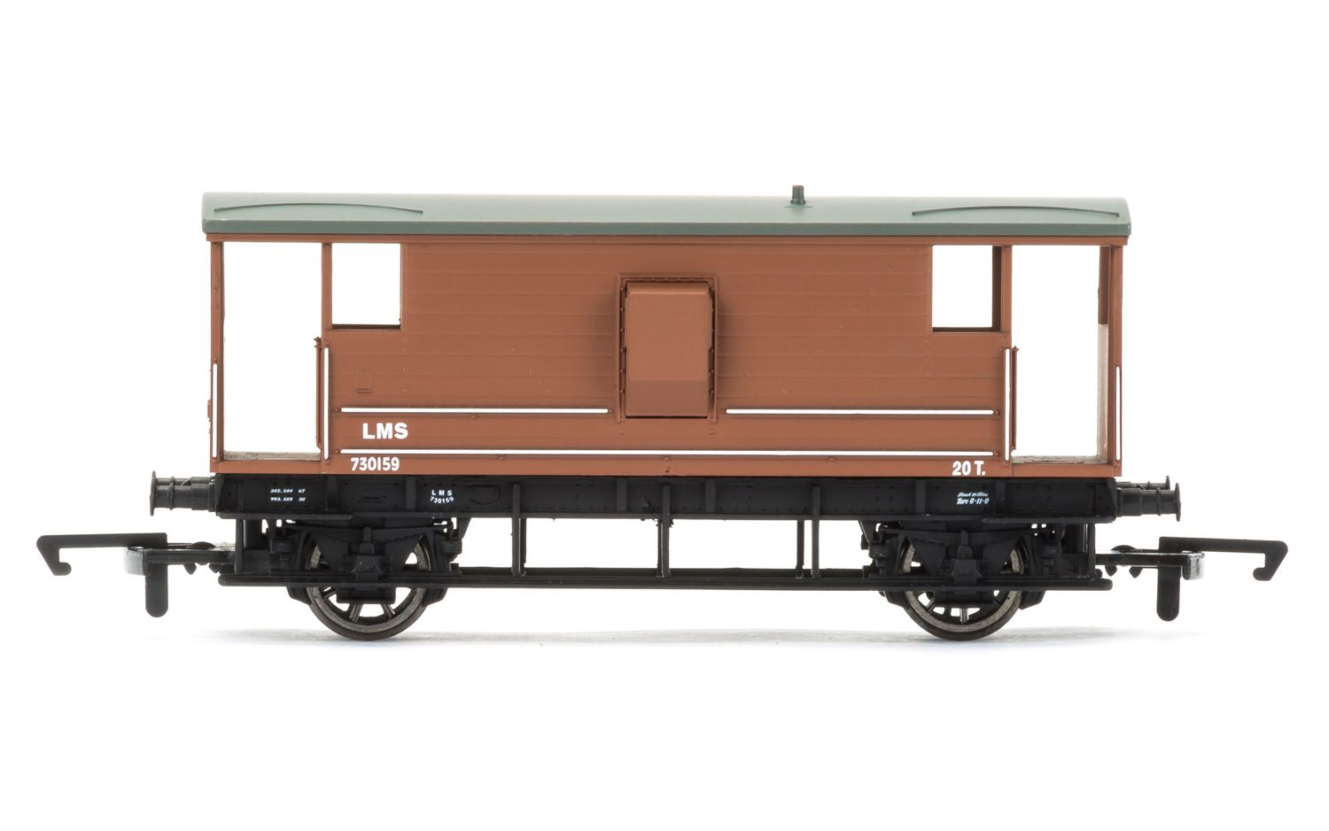 Picture Gallery for Hornby R6768 20T Brake Van, LMS - Era 3