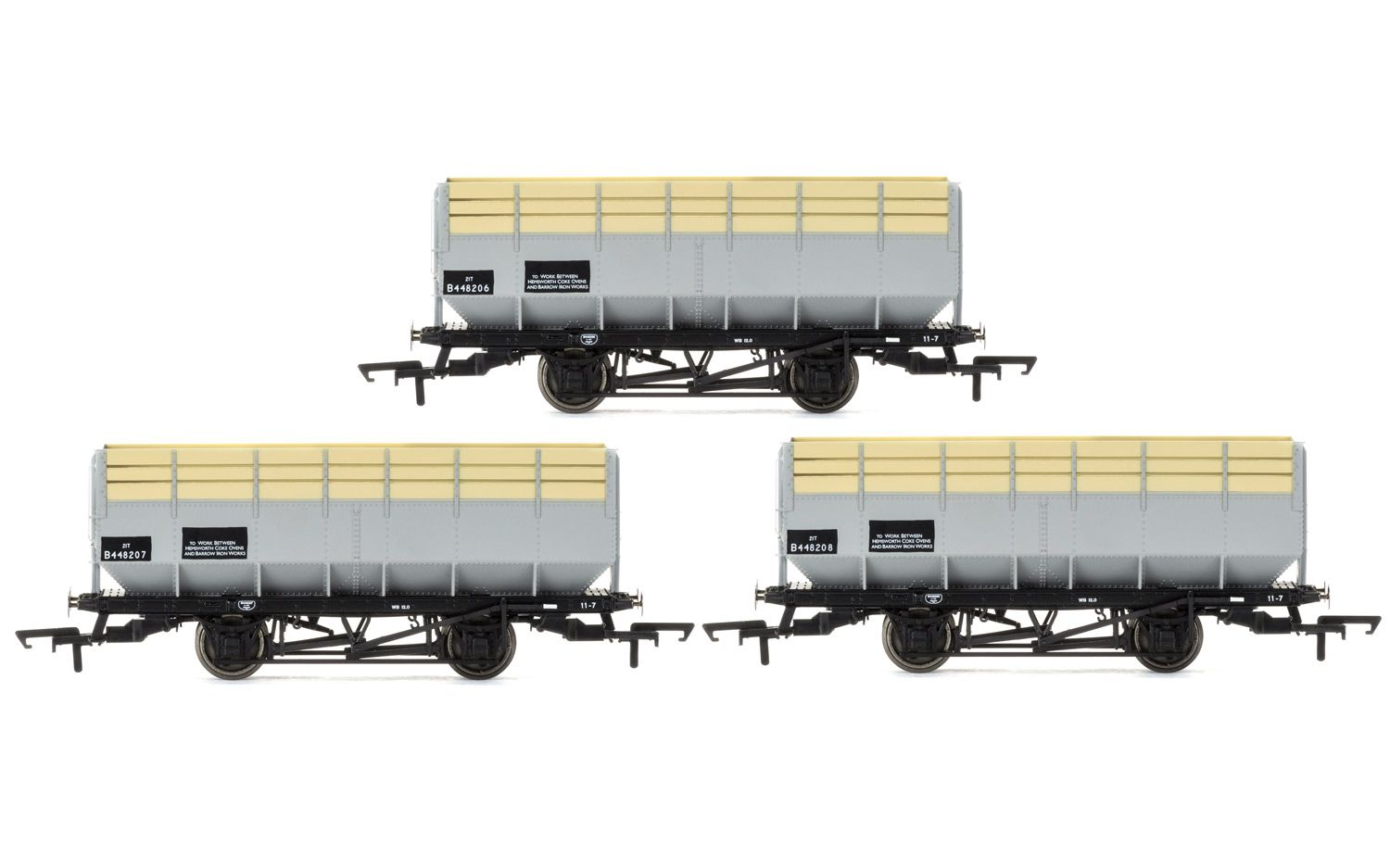 Picture Gallery for Hornby R6783 BR 20 Ton Coke Hopper Wagons - Three