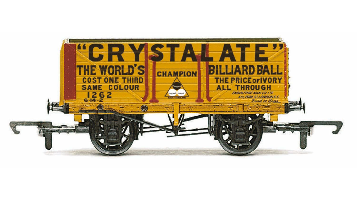Picture Gallery for Hornby R6810 7 Plank Wagon, Crystalate - Era 3
