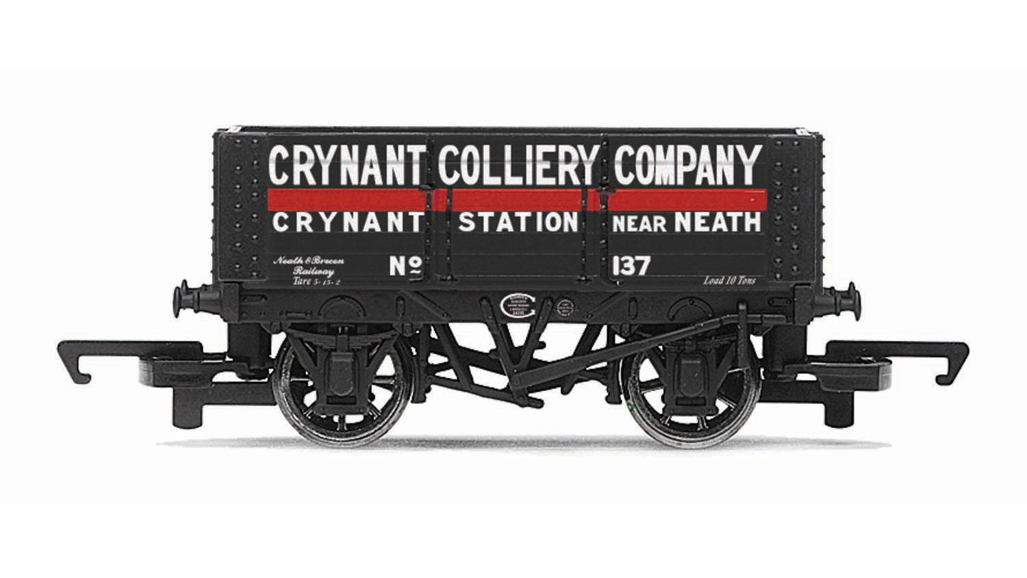 Picture Gallery for Hornby R6816 6 Plank Wagon, Crynant Colliery Comp