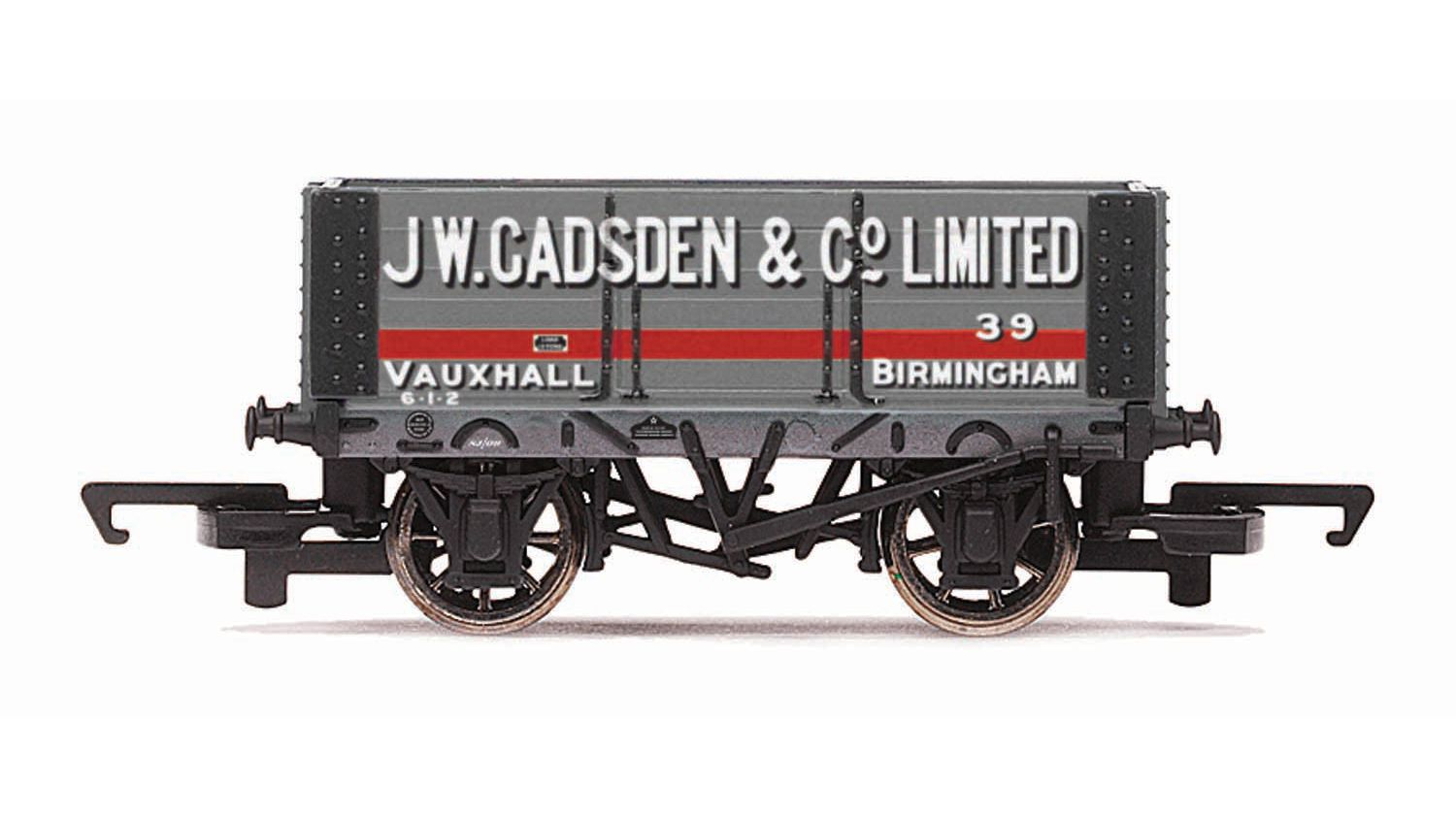 Picture Gallery for Hornby R6817 6 Plank Wagon, J W Gadsden - Era 3