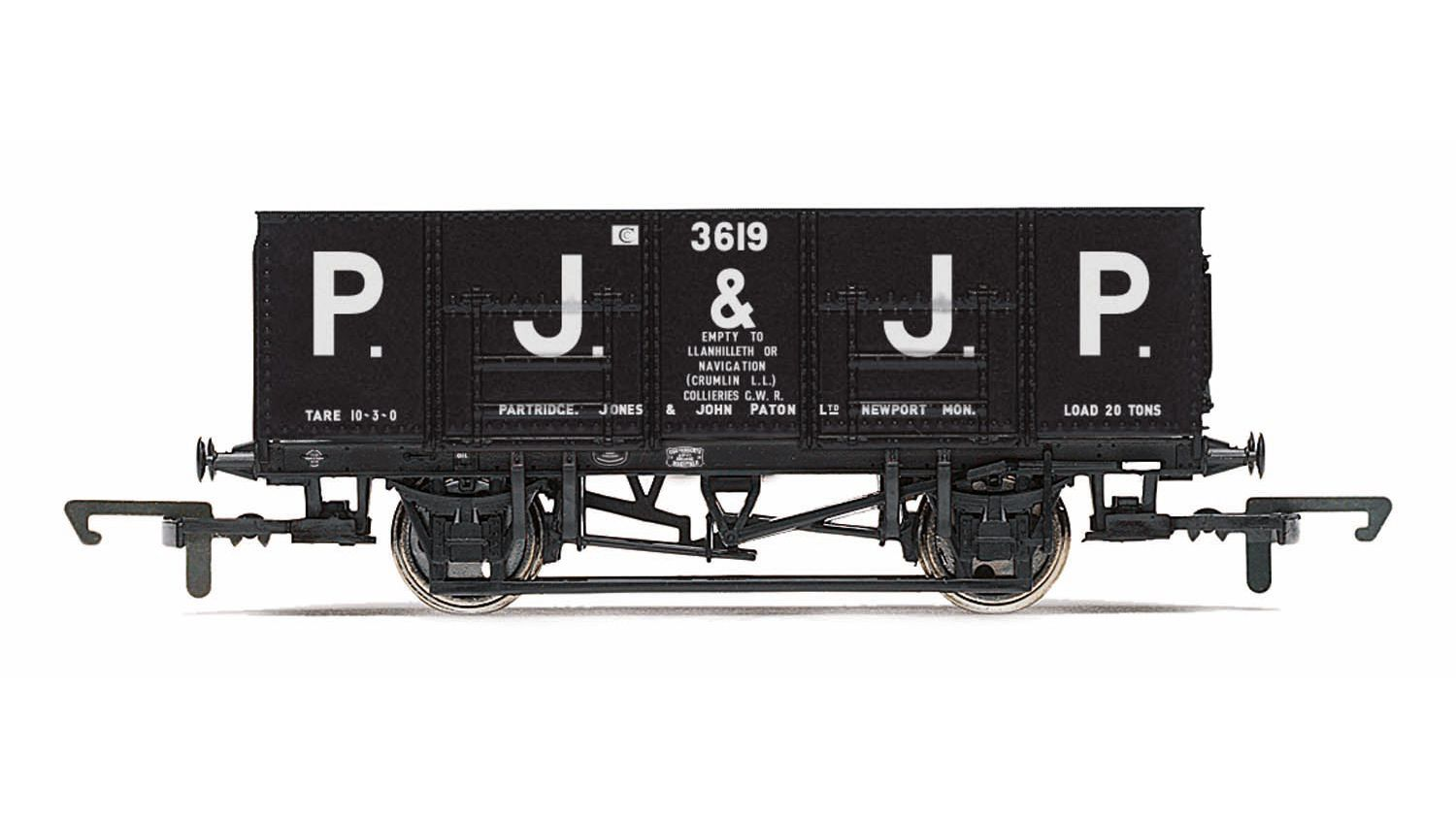 Picture Gallery for Hornby R6818 21T Mineral Wagon, PJ & JP - Era
