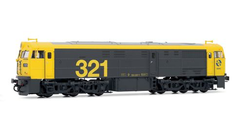 Picture Gallery for Electrotren E3119S Diesel locomotive 321.025 RENFE DCC