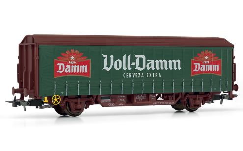 "Picture Gallery for Electrotren E1629 Beer wagon ""Voll-Damm"""