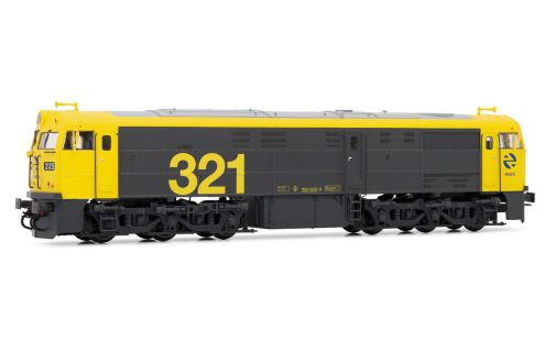 Picture Gallery for Electrotren E3119 Diesel locomotive 321.025 RENFE