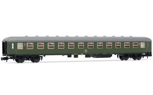 2nd class passenger coach, DB, expre
