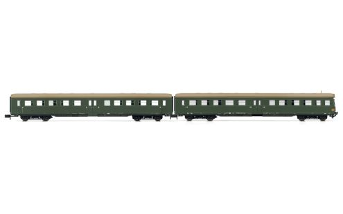 Picture Gallery for Arnold HN4247 2-unit set coaches(1 x control cab)