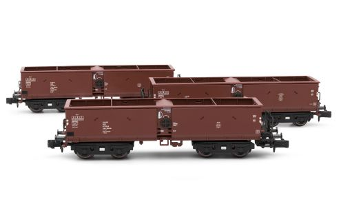 3-unit set self discharging wagons,