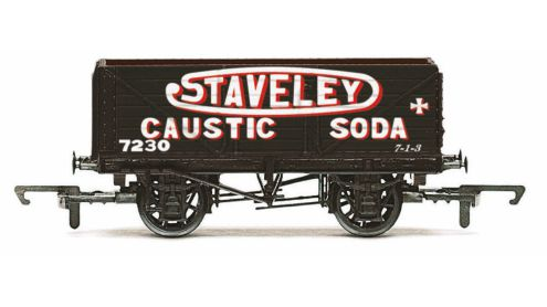 Picture Gallery for Hornby R6811 7 Plank Wagon, Staveley - Era 3