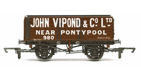 Picture Gallery for Hornby R6812 7 Plank Wagon, John Vipond - Era 3