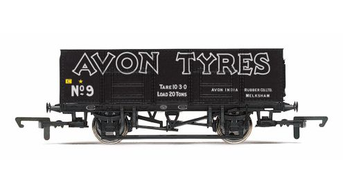 Picture Gallery for Hornby R6819 21T Mineral Wagon, Avon Tyres - Era