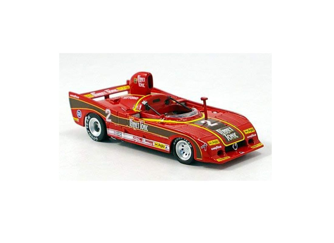 Picture Gallery for Luxury Diecast M4-7008 Alfa Romeo 33.3 SC Turbo (Vittorio Brambilla - Monza 1977)