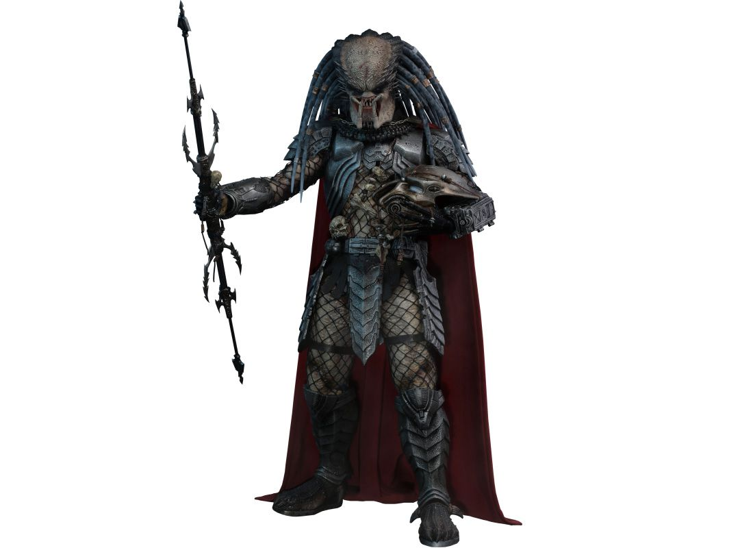 Picture Gallery for Hot Toys MMS325 Elder Predator Poseable Figure  Alien vs Predator