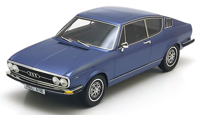 Picture Gallery for KK Scale Models RE18001A Audi 100 S Coupe (1971)