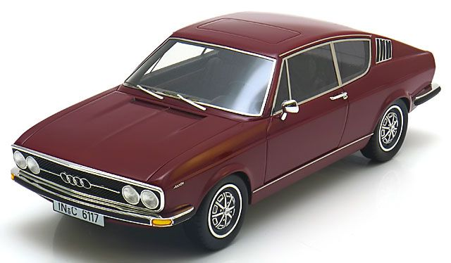 Picture Gallery for KK Scale Models RE18001B Audi 100 S Coupe (1971)