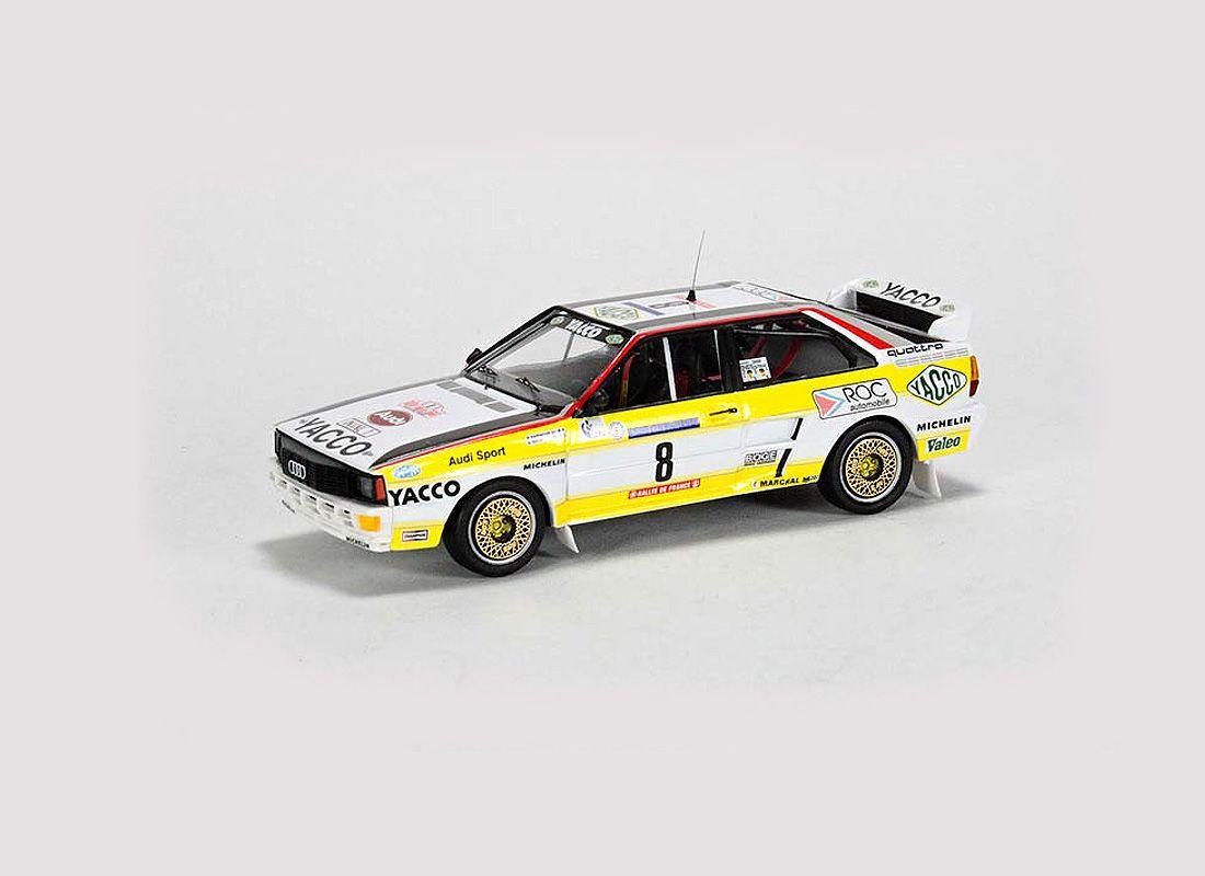 Picture Gallery for Trofeu TR1621 Audi Quattro (Bernard Darniche - Tour de Corse 1984)