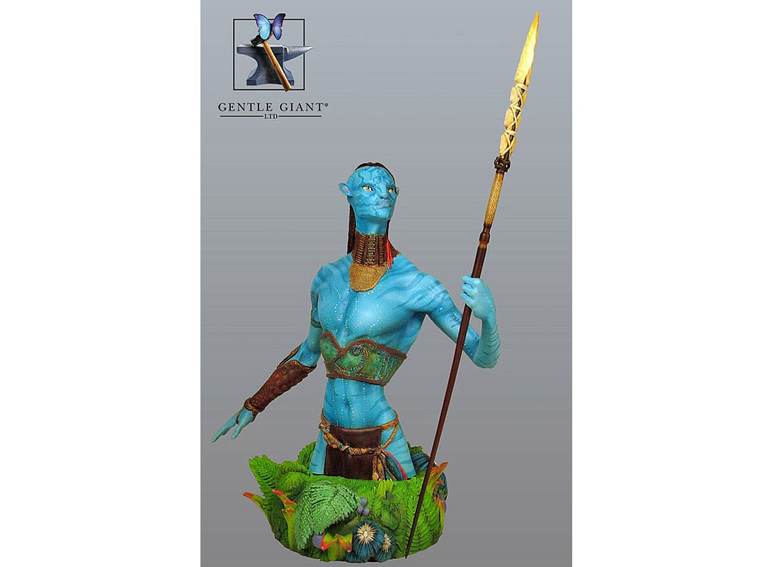 Picture Gallery for Gentle Giant 80043 Tsu Tey Navi Warrior Mini Bust  Avatar