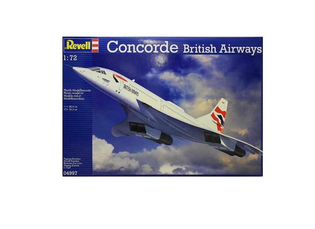 Picture Gallery for Revell 4997 BAC Concorde