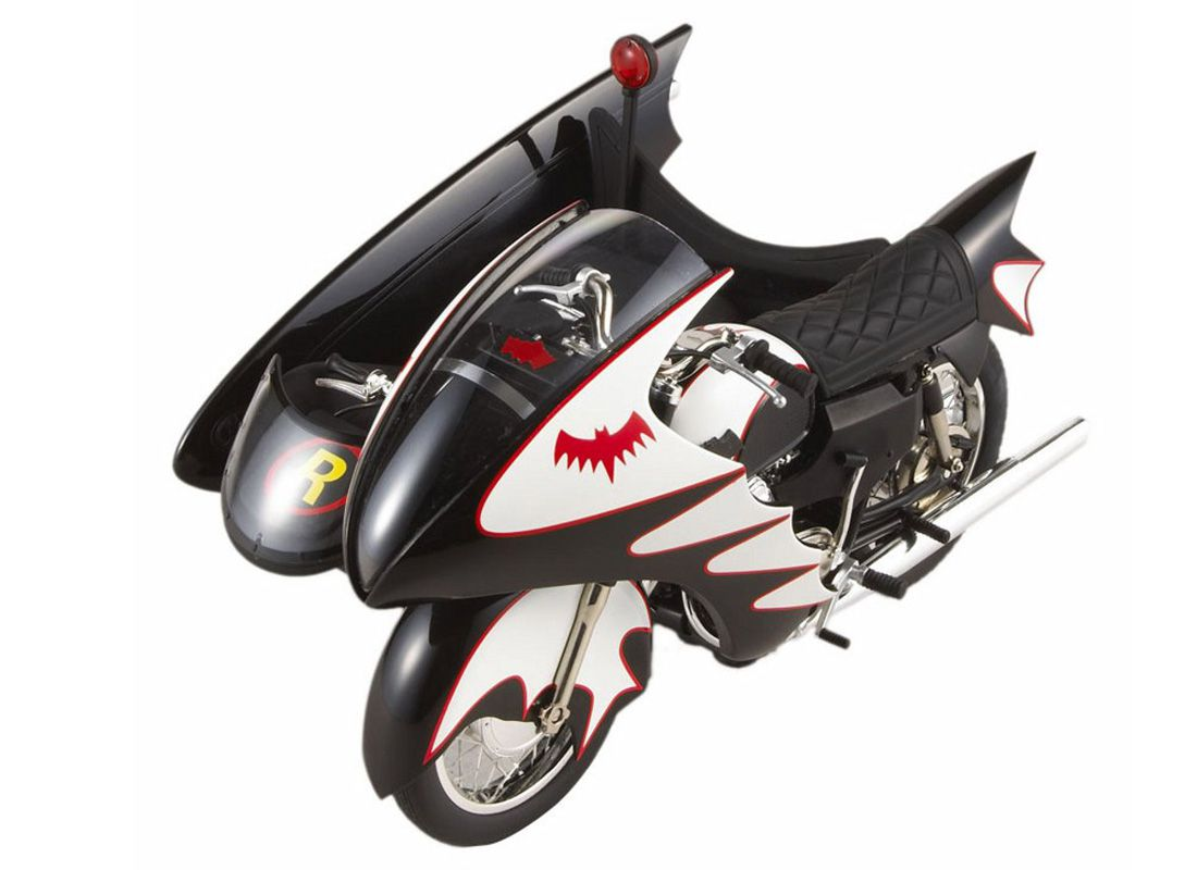 Picture Gallery for Mattel R0006 Batcycle  TV Series  - Motorcycle  Batman