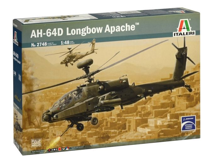 Picture Gallery for Italeri ITA2748 Boeing AH-64 Apache Longbow  - Helicopter Kit