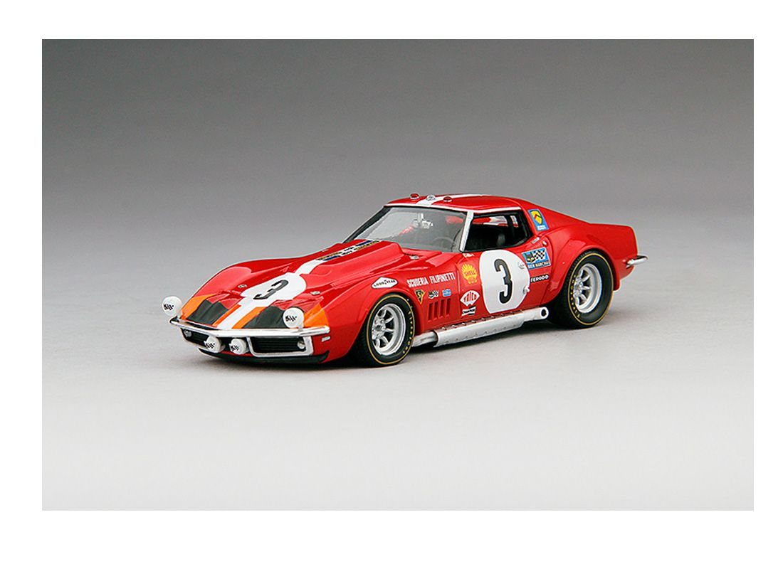 Picture Gallery for Truescale 124320 Chevrolet Corvette L88 Scuderia Filipinetti (Le Mans 1968)