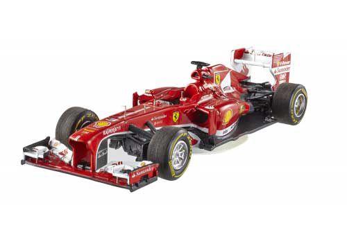 Picture Gallery for Mattel BCK13 Ferrari F138 (Fernando Alonso - Chinese GP 2013)