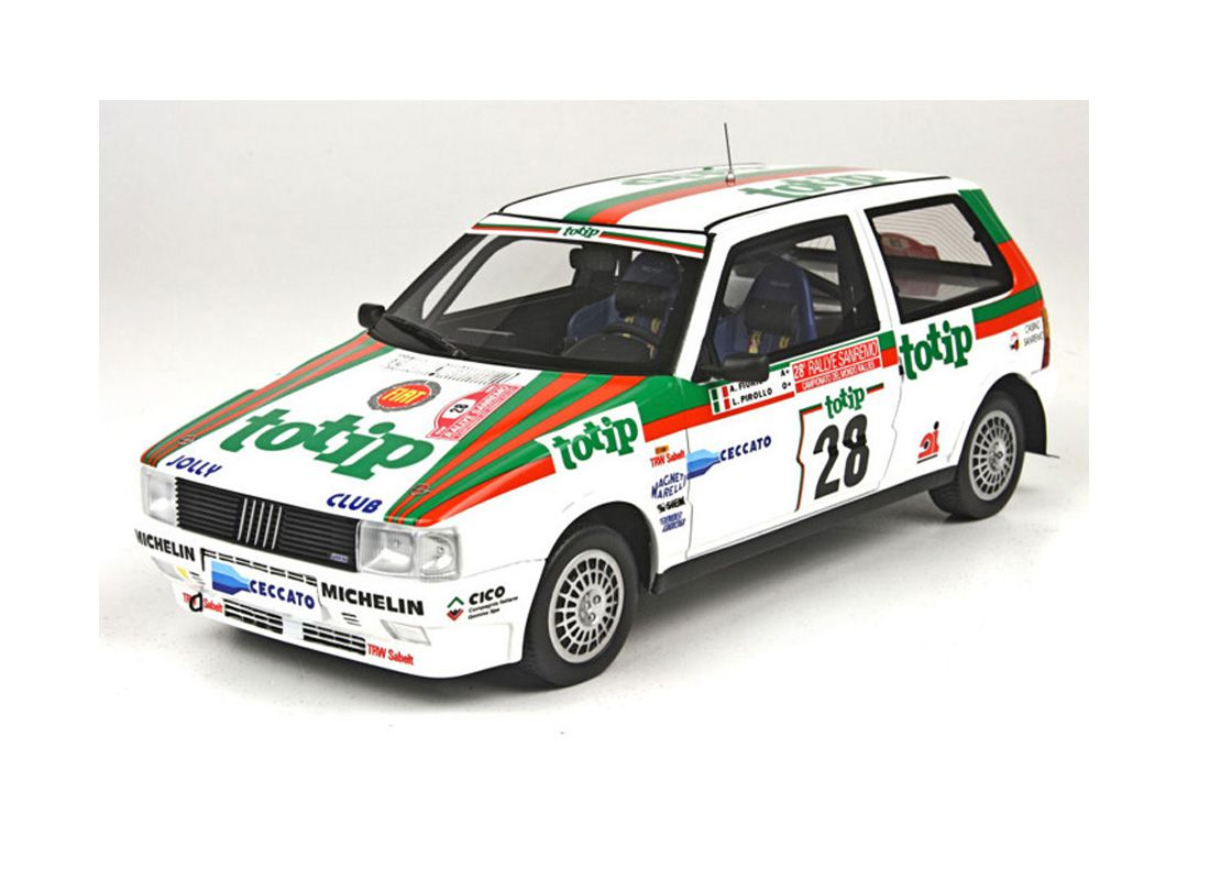 Picture Gallery for Top Marques TOP07A Fiat Uno Turbo (Alex Fiorio - San Remo Rally 1986)