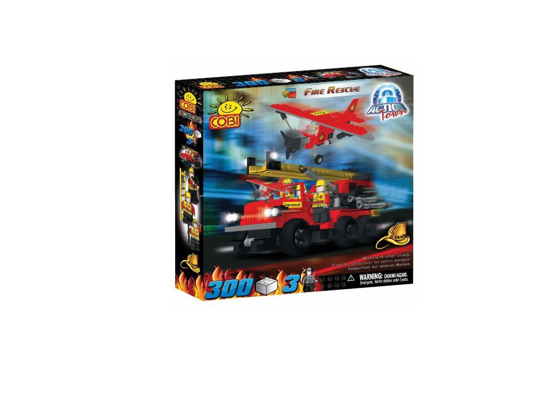 Picture Gallery for COBI COB1440 Fire Rescue Action Town