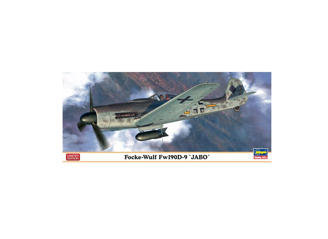 Picture Gallery for Hasegawa HS01967 Focke Wulf FW190D-9 Jabo