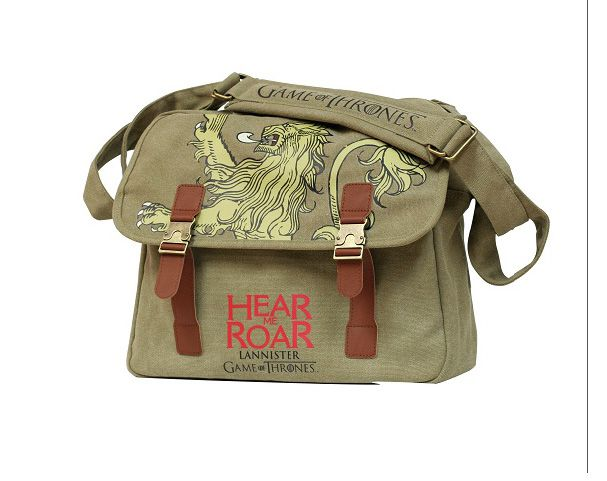 Picture Gallery for Cult SDTHBO89654 Lannister Canvas Messenger Bag