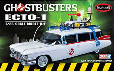 Picture Gallery for Polar Lights POL914 Cadillac Miller Meteor ECTO-1  - Kit  Ghostbusters